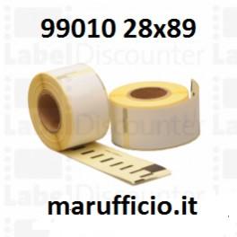 ETICHETTE DYMO 99010 28x89 COMPATIBILE
