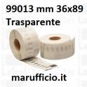 ETICHETTA DYMO 99013 36x89 TRASPARENTE