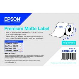 ETICHETTE CARTA PREMIUM MATT mm 102x35 mt C33S045419